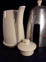 Antik art deco design thermo kávé tea kiöntő ritkaság