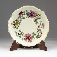 0U418 Lepke mintás Zsolnay porcelán hamutál