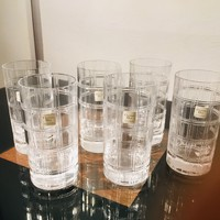 Christian Dior kristály pohár készlet