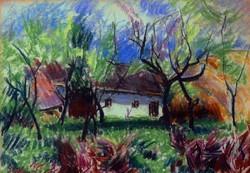 Szalmás Béla(1908-1961):  Tanya