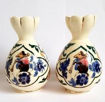 Antik Rudolf Ditmar Znaim váza párban.