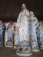 Antik porcelán jézus