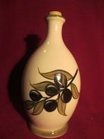 1111 Kerámia oliva olajos kanna flaska 20 cm