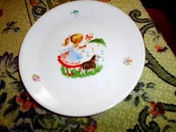 Gránit gyerek mintás tányér 19 cm