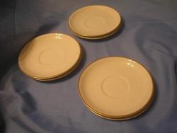N3 Antik aranyszegélyes süteményes 5+ 1 db  15.5 cm