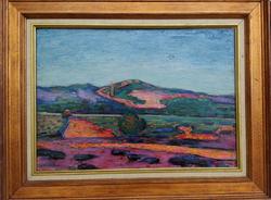 Alfred Lesbros (1873-1940)  Tájkép
