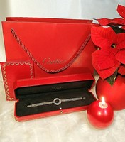 Eredeti Cartier gyémánt karkötő/teljes szett!/