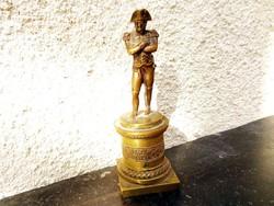 Katona bronz szobor miniatúra