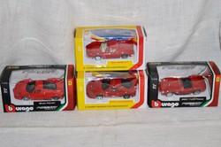4 db autó hologramos Ferraris matricával ellátva ( gyűjteménybe )  ( DBZ 0088 )