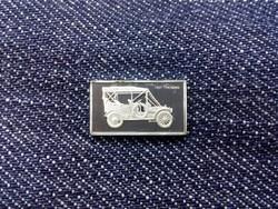 Thomas 1907 autós ezüst lapka