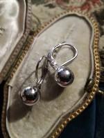 Ezüst bogyós fülbevaló patent zárral ag925