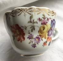 Fischer Ignác:Teáscsésze -porcelán-19.század vége-