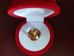 14K antik arany gyűrű  9,56 gramm