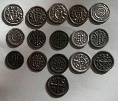 ★16db II. (Vak) Béla denár (1131-1141) Gyűjtemény!★