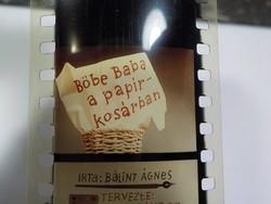 Diafilm :  Böbe baba a papírkosárban  1966 Magyar Diafilmgyártó vállalat