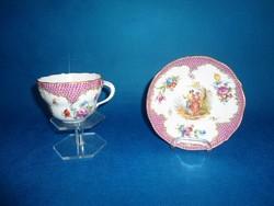 Meisseni  teás csésze aljjal eredeti   19 századi
