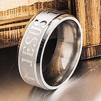 Nemesacél férfi gyűrű