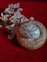 Aquincumi  porcelán ékszertartó - hibátlan