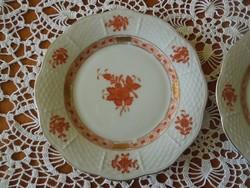 Herendi aponyi orange süteményes tányér