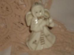 Gyönyörű porcelán angyalka csengő. Fenyőre is akasztható.