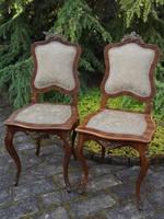 2 db antik szék egyben