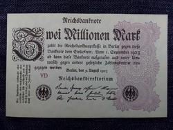 Német 2 millió márka 1923 UNC