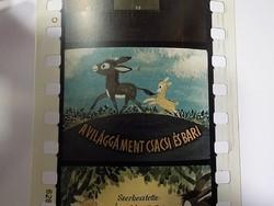 Diafilm : Világgá ment csacsi és bari   1963  Magyar Diafilmgyártó vállalat