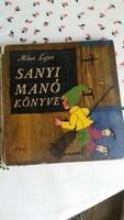 Sanyi Manó könyve eladó!