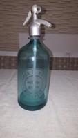 Antik színes szódás üveg - Steiner F.Vilmos Szikvízgyára Budapest