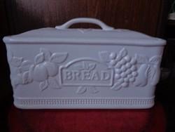 Porcelán kenyértartó