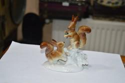 Német páros mókus figura