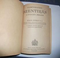 Újszövetségi szentírás, biblia, 1946, Mindszenty József bevezetőjével