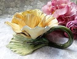 Olasz fajansz rózsa