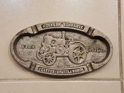 Régi Hofherr traktor reklám cigaretta tartó