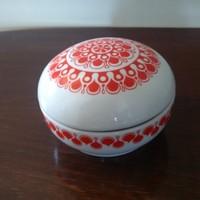 Alföldi porcelán bonbonier, cukortartó.