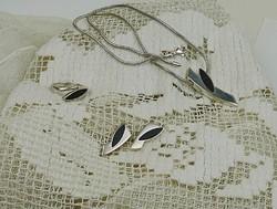 Yvette Ries ékszertervező ezüst szett