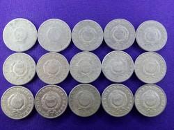 1 Forint - '49, '50, '59, '67, '68, '69, '70, '75, '77, '79, '81, '83, '88, '89