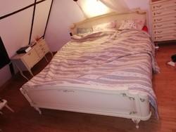 Chippendale, neobarokk ágy