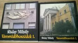 Ráday Mihály: Városvédőbeszédek I. II.