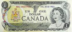 Kanada 1 Kanadai Dollár 1973 UNC