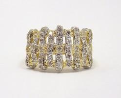 Köves arany gyűrű (ZAL-Au78227)