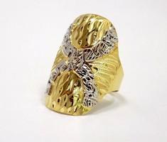 Vésett kő nélküli arany gyűrű (ZAL-Au77414)