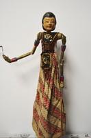 Antik indonéz Jáva bábfigura