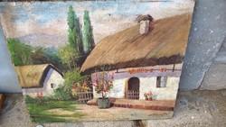 Szép festmény ( Karlovics Tibor ? )