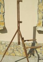 Fa festőállvány tábori hordozható összecsukható