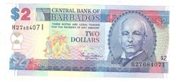 2 dollár 2000 Barbados UNC