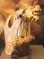 Kínai sárkány részletesen kidolgozva