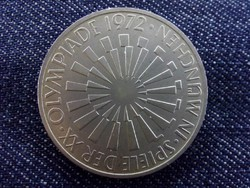 Német ezüst emlék 10 Márka 1972 J - Müncheni Olimpia