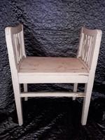 Antik fotós szék fényképész ülőke  Ritkaság
