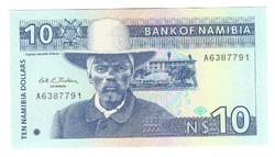 10 namíbiai dollár 1993 Namíbia UNC